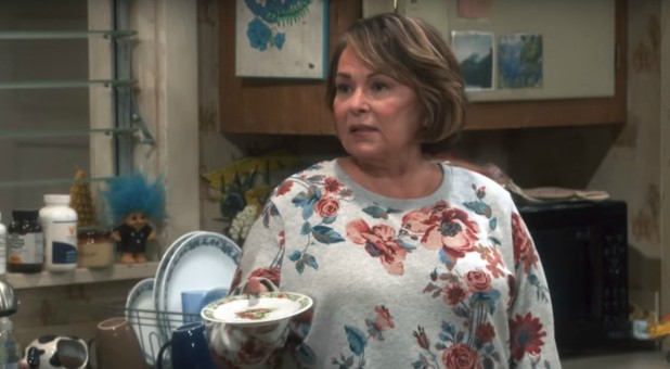 Roseanne Barr in a scene from her self-titled reboot.
