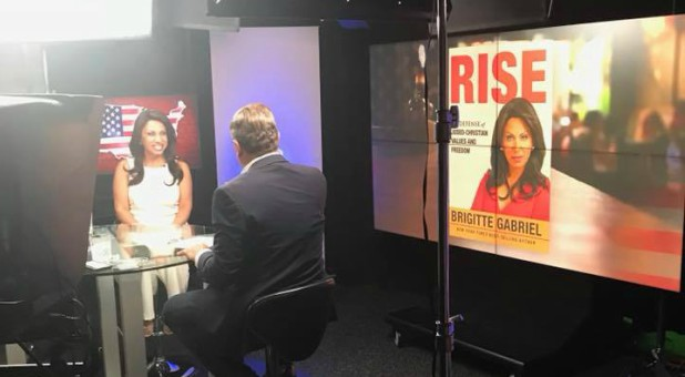 "Brigitte Gabriel talks about her book, ""Rise."""