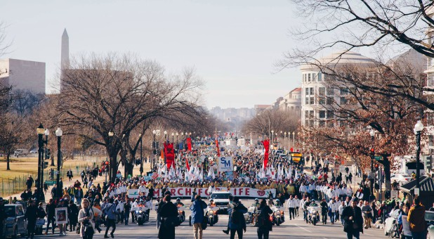 People march for life in Washington, D.C.