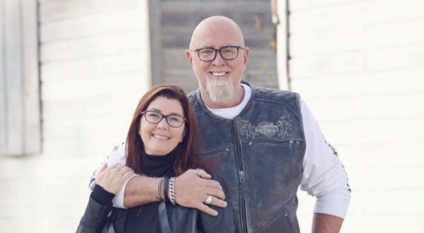 James MacDonald with his wife, Kathy