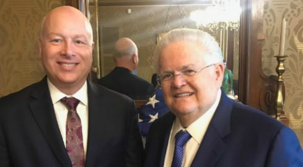 Jason Greenblatt with John Hagee