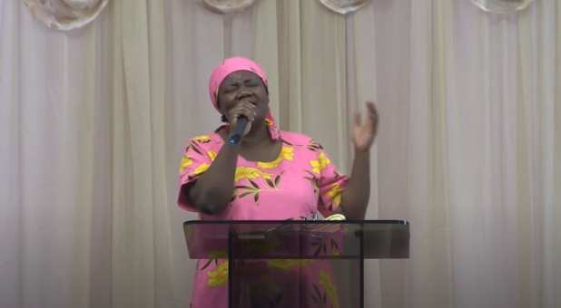 In a video posted to YouTube March 15, 2020, Dr. Stella Immanuel prays against COVID-19.