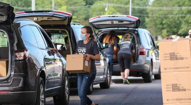 So far, CityServe has distributed more than 12 million food boxes.