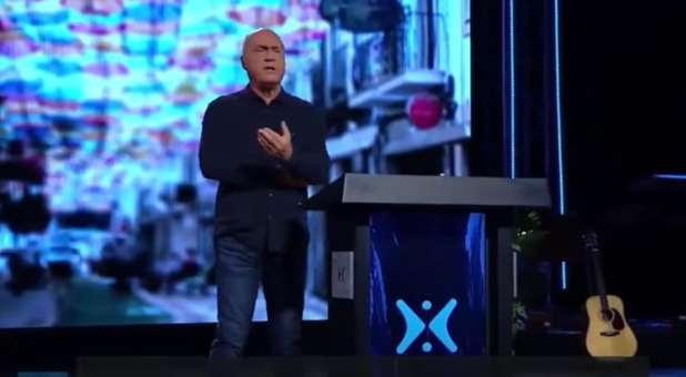"Pastor Greg Laurie preaches on ""Is the COVID-19 Vaccine The Mark of the Beast?"""