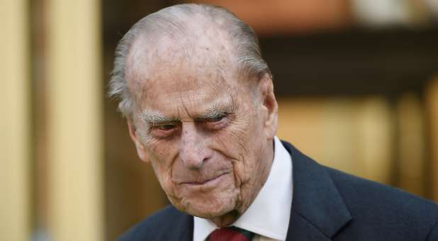Britain's Prince Philip, the Duke of Edinburgh, leaves the National Army Museum in London, Britain March 16, 2017.